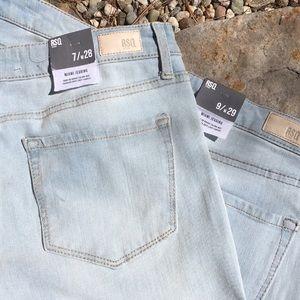 NWT RSQ Miami Denim Distressed Stretch Jeans